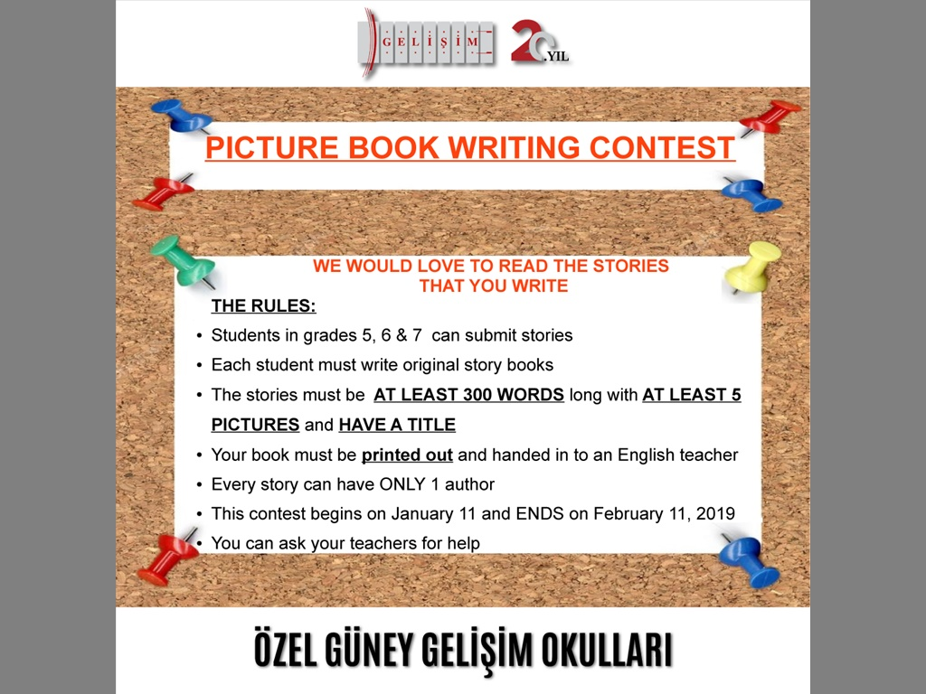 PICTURE BOOK WRITING CONTEST